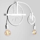 ALDEX 844H/D | Bang-Min Aldex stropne svjetiljke svjetiljka 2x E27 antik bijela, crno