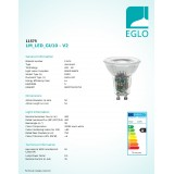 EGLO 11575 | GU10 Eglo