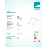 EGLO 61359 | Eglo okvir rezervni dijelovi bijelo