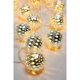 GLOBO 29957-20 | Venuto-VII Globo dekoracija svjetiljka s prekidačem 20x LED srebrno