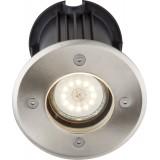 GLOBO 31100 | Style-II Globo ugradbena svjetiljka Ø110mm 1x GU10 IP67 čelik