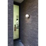 LUTEC 5194302118 | Alice-LU Lutec zidna svjetiljka sa senzorom, svjetlosni senzor - sumračni prekidač 1x LED 800lm 3000K IP44 tamno sivo, opal
