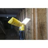 LUTEC 7629001341   Peri-LU Lutec nosiva reflektor elementi koji se mogu okretati, s podešavanjem visine, sa kablom i vilastim utikačem 2x LED 3200lm 5000K IP54 antracit siva, žuto, acidni