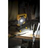 LUTEC 7633301118 | Modo-LU Lutec nosiva reflektor elementi koji se mogu okretati, sa kablom i vilastim utikačem 1x LED 1500lm 5000K IP54 antracit siva, žuto