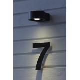 MARKSLOJD 105830 | Direct Markslojd zidna svjetiljka izvori svjetlosti koji se mogu okretati 1x LED 270lm 3000K IP44 sivo