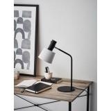 MARKSLOJD 107217 | Bodega Markslojd stolna svjetiljka 46cm s prekidačem elementi koji se mogu okretati 1x E27 crno, bijelo