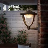 PHILIPS 15470/30/16   Robin Philips zidna svjetiljka 1x LED 430lm 2700K IP44 crno, bijelo, prozirno