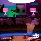 PHILIPS 8718696695241 | E14 6W Philips oblik svijeće B39 LED izvori svjetlosti hue smart rasvjeta 470lm 2200 <-> 6500K jačina svjetlosti se može podešavati, promjenjive boje, dvodijelni set
