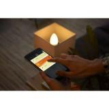 PHILIPS 8718696695265   E14 6W Philips oblik svijeće B39 LED izvori svjetlosti hue smart rasvjeta 470lm 2200 <-> 6500K jačina svjetlosti se može podešavati, sa podešavanjem temperature boje, dvodijelni set
