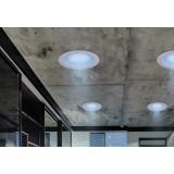 RABALUX 1503 | Rabalux-Smart-Shea Rabalux ugradbene svjetiljke smart rasvjeta okrugli daljinski upravljač zvučnik, jačina svjetlosti se može podešavati, promjenjive boje, sa podešavanjem temperature boje Ø195mm 195x195mm 1x LED 1050lm + 1x LED 3000 <-&