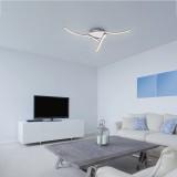 RABALUX 5791 | Erin Rabalux stropne svjetiljke svjetiljka 1x LED 1296lm 3000K krom
