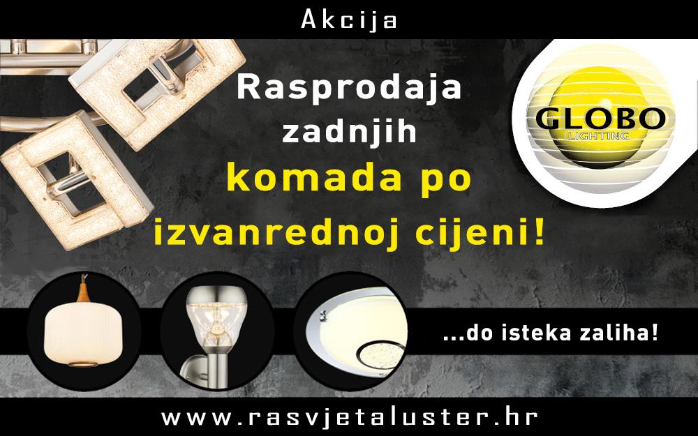GLOBO - Akcijske lampe!