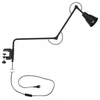 ALDEX 1004J1 | Smart Aldex sa navojem svjetiljka elementi koji se mogu okretati 1x E27 crno, krom