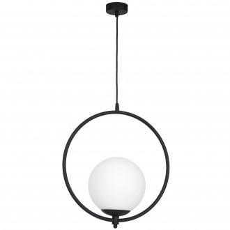 ALDEX 1011G1 | Luna-AL Aldex visilice svjetiljka 1x E27 crno, bijelo