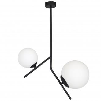 ALDEX 1011PL/H1   Luna-AL Aldex stropne svjetiljke svjetiljka 1x E14 + 1x E27 crno, bijelo