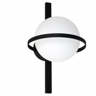 ALDEX 1014C | Drops-AL Aldex zidna, stropne svjetiljke svjetiljka 1x E14 crno, bijelo