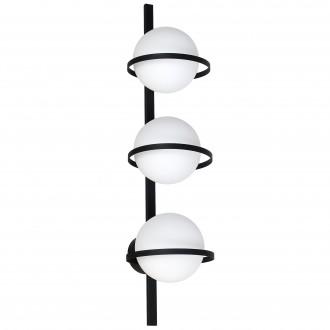 ALDEX 1014Y | Drops-AL Aldex zidna, stropne svjetiljke svjetiljka 3x E14 crno, bijelo