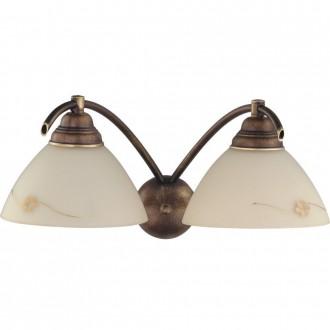 ALDEX 377D | HitA Aldex zidna svjetiljka 2x E27 antik crveni bakar, krem