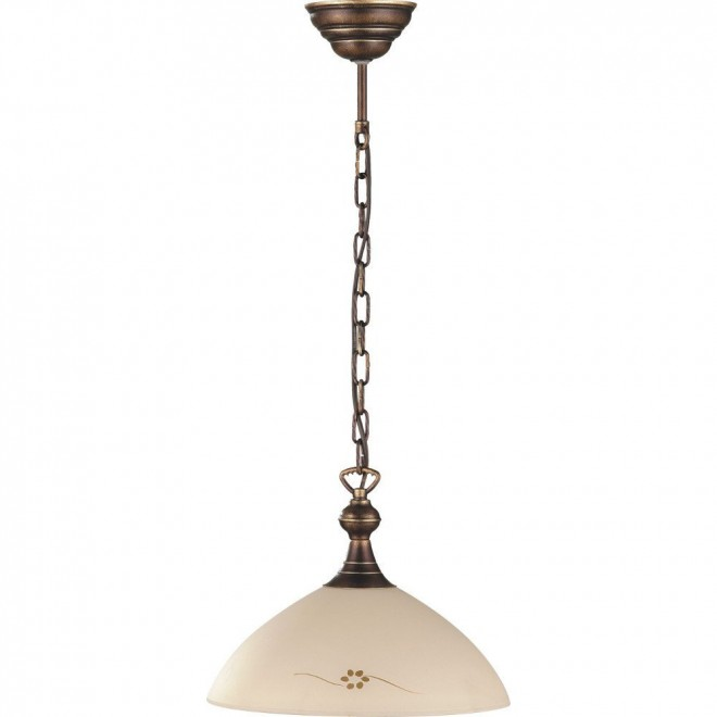 ALDEX 377G   HitA Aldex visilice svjetiljka 1x E27 antik crveni bakar, krem