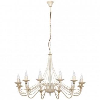 ALDEX 397R9 | Roza Aldex luster svjetiljka 12x E14 krem