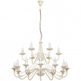 ALDEX 397S9 | Roza Aldex luster svjetiljka 18x E14 krem
