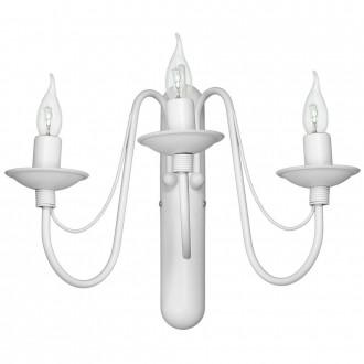 ALDEX 397Y | Roza Aldex zidna svjetiljka 3x E14 bijelo