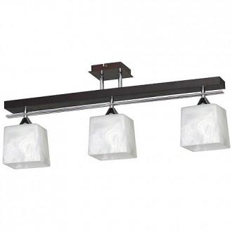 ALDEX 527E | FabioA Aldex stropne svjetiljke svjetiljka 3x E27 crno, krom, bijelo