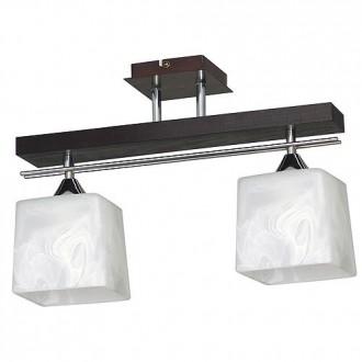 ALDEX 527H | FabioA Aldex stropne svjetiljke svjetiljka 2x E27 crno, krom, bijelo
