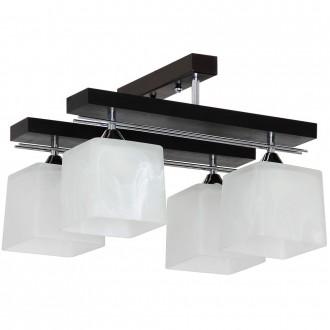 ALDEX 527L | FabioA Aldex stropne svjetiljke svjetiljka 4x E27 crno, krom, bijelo