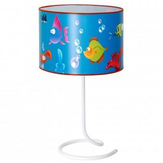 ALDEX 657B10 | Akwarium Aldex stolna svjetiljka s prekidačem 1x E14 plavo, višebojno