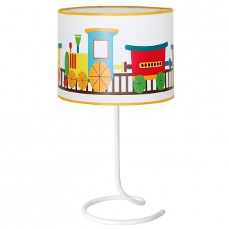 ALDEX 657B11 | Lokomoto_I Aldex stolna svjetiljka s prekidačem 1x E14 bijelo, višebojno