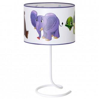 ALDEX 657B17 | Zolwiem Aldex stolna svjetiljka 53cm s prekidačem 1x E27 bijelo, višebojno