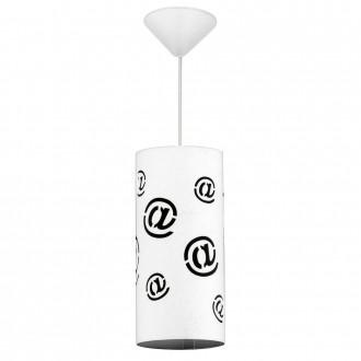 ALDEX 703G/M | Mail Aldex visilice svjetiljka 1x E27 bijelo, crno