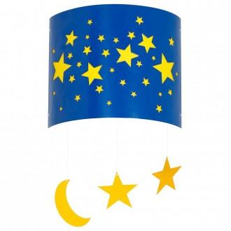 ALDEX 710C/11 | Gwiazdy Aldex zidna svjetiljka 1x E14 plavo, žuto