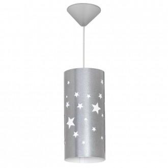 ALDEX 710G/3/M | Gwiazdy Aldex visilice svjetiljka 1x E14 srebrno, bijelo