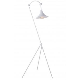ALDEX 783A | Antika Aldex podna svjetiljka 143cm s prekidačem elementi koji se mogu okretati 1x E27 bijelo