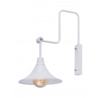 ALDEX 783C | Antika Aldex zidna svjetiljka elementi koji se mogu okretati 1x E27 bijelo