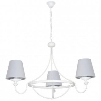 ALDEX 799E | Vidro Aldex luster svjetiljka 3x E14 bijelo