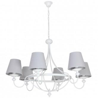 ALDEX 799K | Vidro Aldex luster svjetiljka 6x E14 bijelo