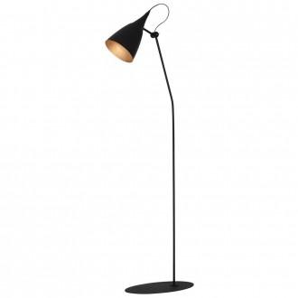 ALDEX 812A/1/M | Piko-Sento Aldex podna svjetiljka 165cm s prekidačem elementi koji se mogu okretati 1x E27 crno, zlatno