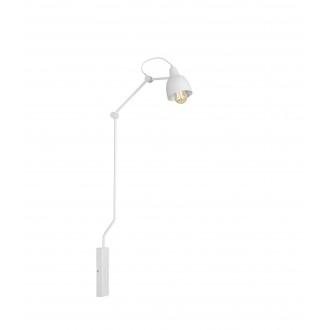 ALDEX 814C | Aida-Bibi Aldex zidna svjetiljka elementi koji se mogu okretati 1x E27 bijelo