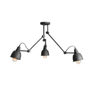 ALDEX 814PL_E19 | Aida-Bibi Aldex stropne svjetiljke svjetiljka elementi koji se mogu okretati 3x E27 crno