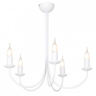 ALDEX 831F | Feb Aldex stropne svjetiljke svjetiljka 5x E14 bijelo