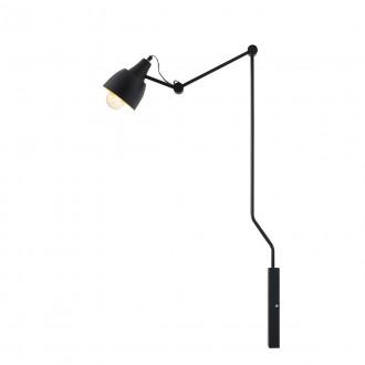 ALDEX 843C | Aida-Bibi Aldex zidna svjetiljka elementi koji se mogu okretati 1x E27 crno, zlatno