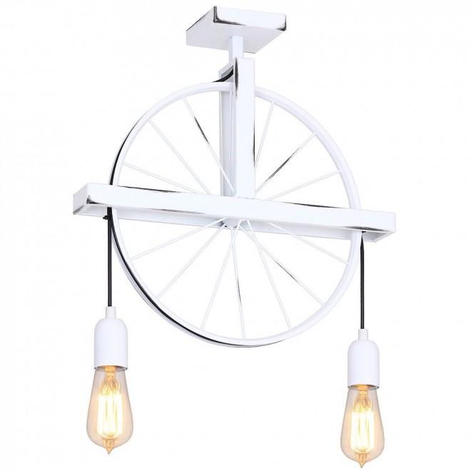 ALDEX 844H/D1 | Bang-Min Aldex stropne svjetiljke svjetiljka 2x E27 antik bijela, crno