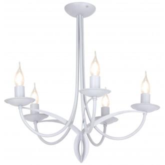 ALDEX 849F | Cyfra Aldex stropne svjetiljke svjetiljka 5x E14 sivo