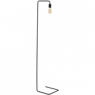 ALDEX 857A1 | EkoA Aldex podna svjetiljka 160cm s prekidačem 1x E27 crno