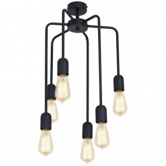 ALDEX 857K4 | EkoA Aldex stropne svjetiljke svjetiljka 6x E27 crno