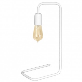ALDEX 860B | EkoA Aldex stolna svjetiljka 43cm s prekidačem 1x E27 bijelo
