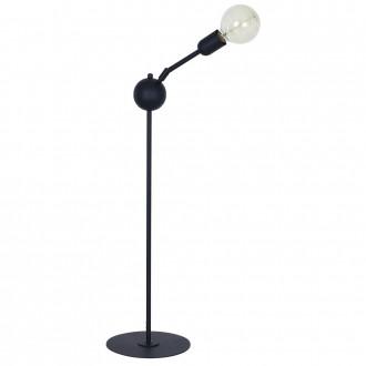ALDEX 861B | EkoA Aldex stolna svjetiljka 90cm s prekidačem elementi koji se mogu okretati 1x E27 crno